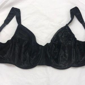 Victoria's Secret Crushed Velvet Bra